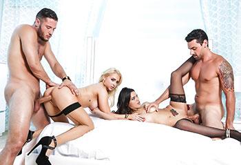 Stocking sex